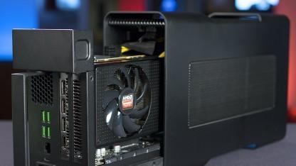 Razers Core mit einer Radeon R9 Nano