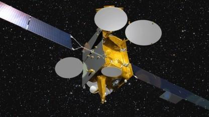 Der neue Satellit
