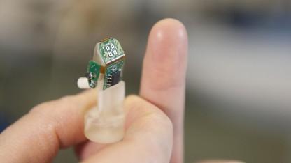 Künstlicher Finger: Die gleichen Hirnregionen wurden stimuliert.