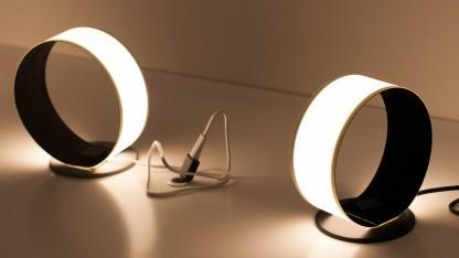 LG zeigt auf der Light + Building OLED-Leuchtsysteme in vielen Formen.