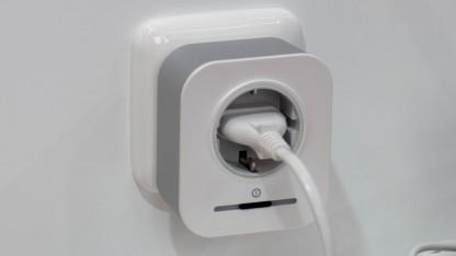 Noch sind nicht alle Komponenten von Boschs Smart Home auf dem Markt. Der Zwischenstecker soll erst im Mai 2016 erscheinen.