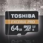Exceria Pro mit UHS-II: Toshibas neue Micro-SD-Karte ist die weltweit schnellste