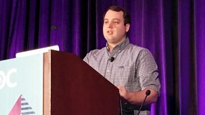 Indiegames-Entwickler E McNeill auf der GDC 2016
