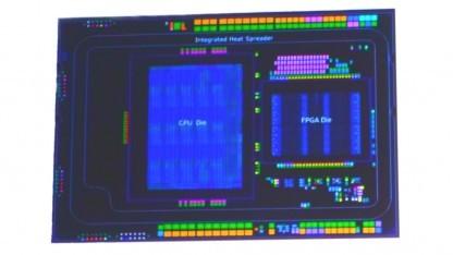 Broadwell-EP mit 15 Kernen und einem Arria-FPGA