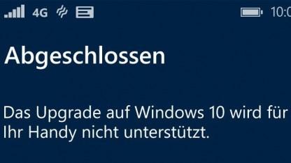 Windows 10 Mobile ist endlich verfügbar - manch einer geht aber leer aus.