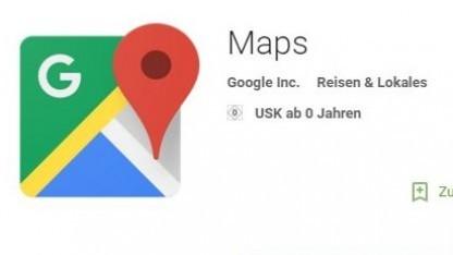 Neue Version von Google Maps mit Mytaxi-Integration