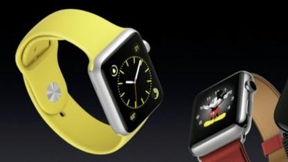 Keine Apple-Watch mehr im Kabinett.