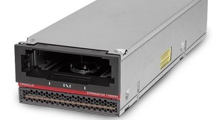 Bandlaufwerke, hier ein Storagetek von Oracle, haben noch nicht ausgedient.