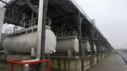 2013: Bau eines Google-Rechenzentrums im belgischen Saint-Ghislain