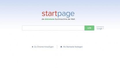 Startpage zeigt Google-Ergebnisse an, ohne dem amerikanischen Unternehmen Daten zu überlassen.