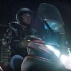 Samsung: Windschild für Motorräder mit Head-up-Display
