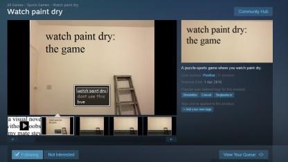 Watch Paint Dry auf Steam
