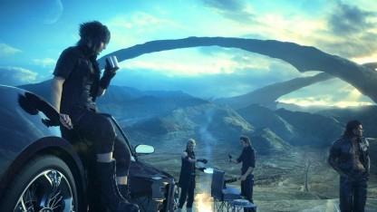 Artwork von Final Fantasy 15