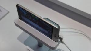 LG G5 am Stand der Telefónica auf dem MWC 2016