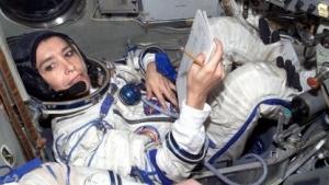 Die französische Astronautin Claudie Haigneré: Alle elf Deutschen im All waren Männer.