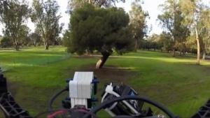 Autonome Drohne: Wenn nicht alles einwandfrei klappt, stürzt die Drohne ab.