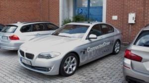 Ein hochautomatisierter BMW am Standort der BMW Forschung und Technik GmbH in München