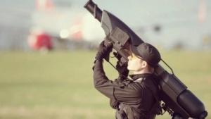 Drohnenabwehrsystem Skywall 100