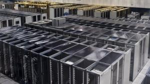 Ein Serverraum am Cern.