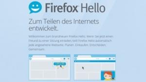 Firefox Hello bekommt ein leicht neues Nutzungskonzept.