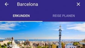 Mit der neuen Reisezielsuche von Google sollen sich Reisen leichter planen und buchen lassen.