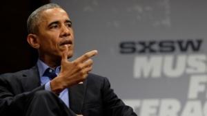 Obama auf dem SXSW 2016