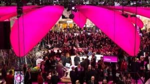 Messestand der Telekom auf der Cebit 2016