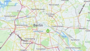 Here Maps auf einem Android-Gerät