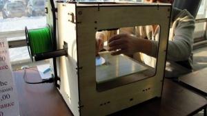 Ein 3D-Drucker