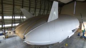 Der Airlander 10 nähert sich der Fertigstellung.