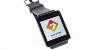 Die G Watch von LG mit dem Open-Source-Betriebssystem Asteroid OS