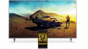 Google-Cast-Fernseher erscheinen mit 6-Zoll-Tablet.
