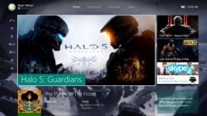 Oberfläche der Xbox One