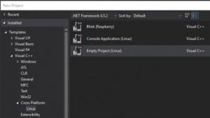 Visual Studio erleichtert die Entwicklung für Linux.