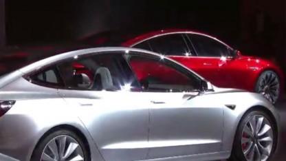 Tesla Model 3 hat Platz für fünf Personen