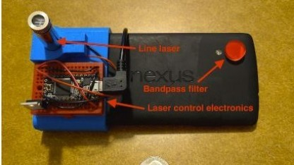 Infrarot Entfernungsmesser : Mit forschung: das smartphone wird zum laser entfernungsmesser