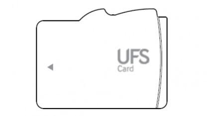 Schaubild einer UFS-Card