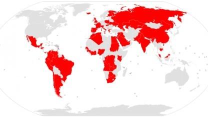 Die Nutznießer der Briefkastenfirmen sind über die ganze Welt verteilt.