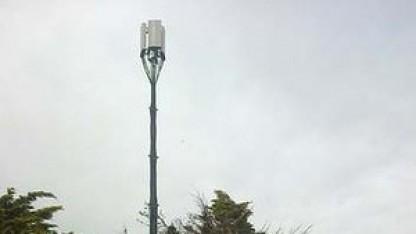Mobiler Sendemast von Telstra