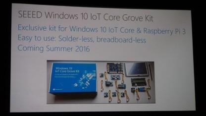 Viele Details gibt es zum Grove Kit noch nicht.