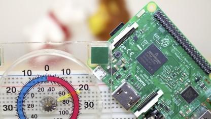 Temperatur messen mit dem Raspberry Pi