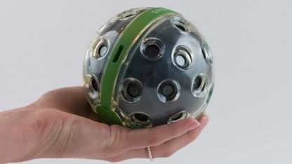 Die 360-Grad-Kamera Panono