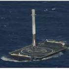 Falcon 9: SpaceX gelingt Landung auf Drohnenschiff