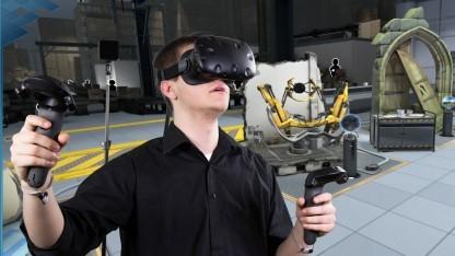 HTCs Hoffnung dürfte unter anderem auf dem VR-Headset Vive liegen.