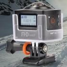 Amkov AMK100S: Panorama-Actionkamera mit 220 Grad Blickwinkel für 130 US-Dollar