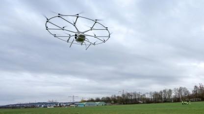 Der Volocopter hebt ab: Ausweichtechnik von einem Drohnenhersteller