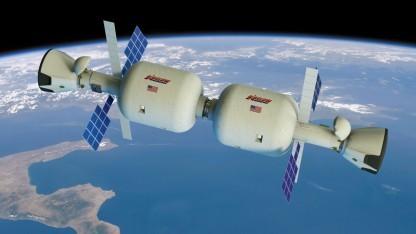 Bigelows BA-330 Module sind auch autonome Raumstationen.