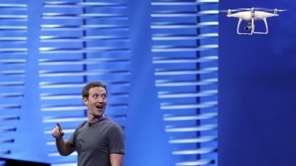 Mark Zuckerberg bei der Facebook-Entwicklerkonferenz F8