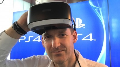 Simon Benson, Senior Development Manager der Playstation VR