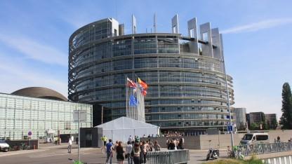 Das Gebäude des EU-Parlaments in Straßburg